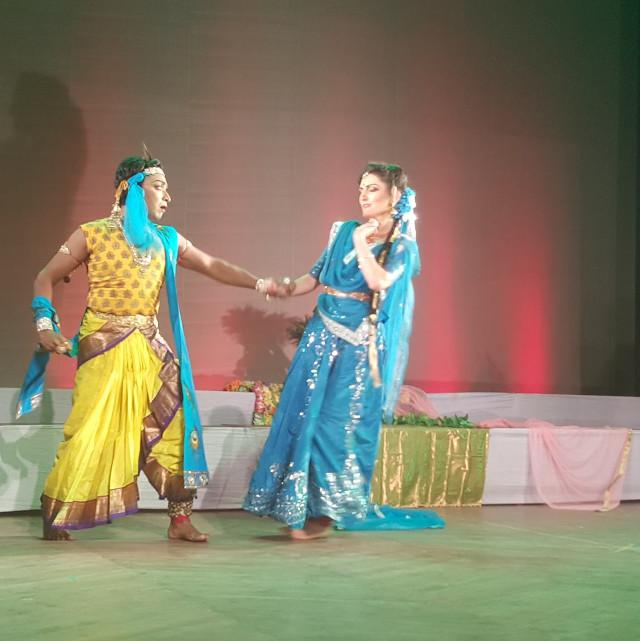 Foto 10 di Lisa Pellegrini durante la Danza Kathak